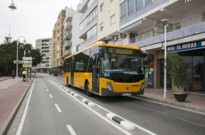 autobus gandia marina gandiense