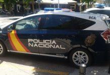 coche patrulla Izeta