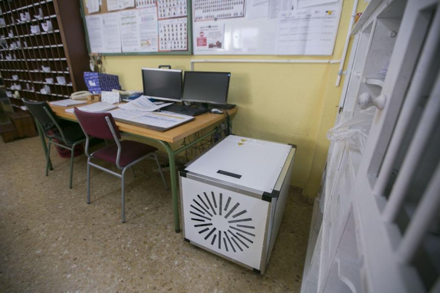purificadores aire colegios gandia