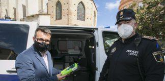 etilómetro Policía Local Gandia