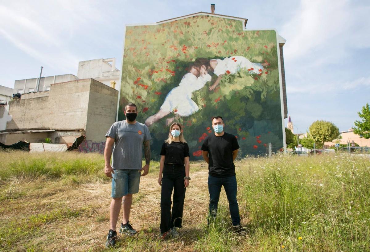 nuevo mural Serpis Urban Art Project
