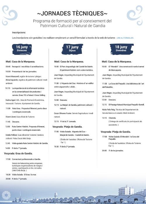 Jornadas Técnicas del Patrimonio de Gandia