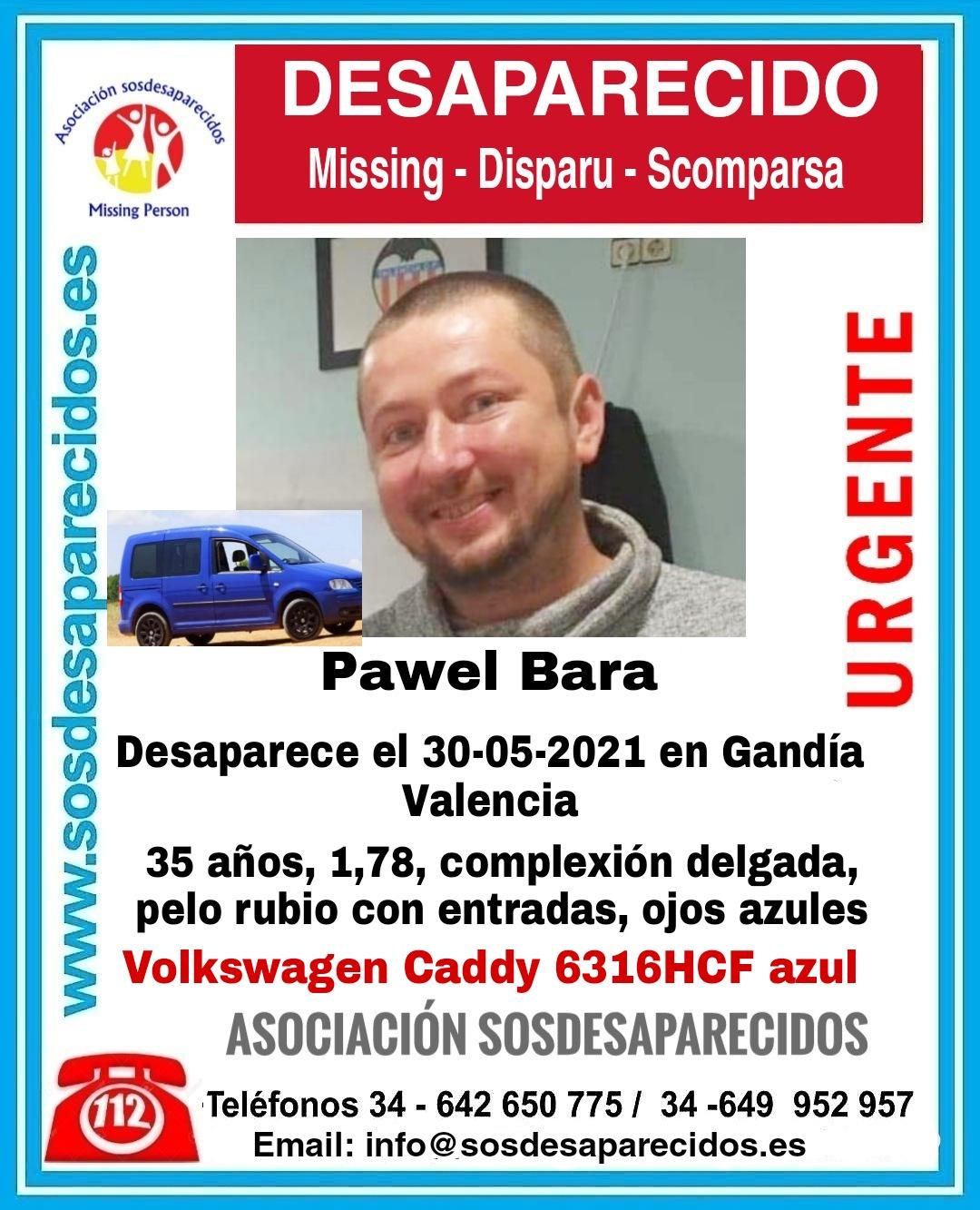 desaparecido en Gandia