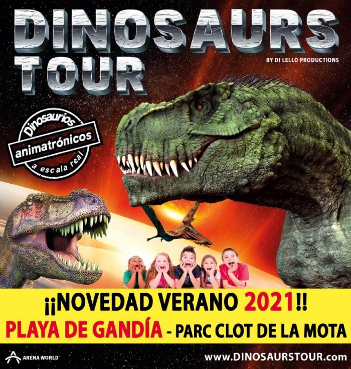 Dinosaurs Tour playa de Gandia
