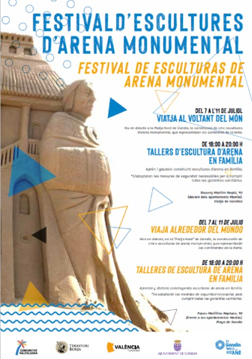 Festival de Esculturas de Arena gandia
