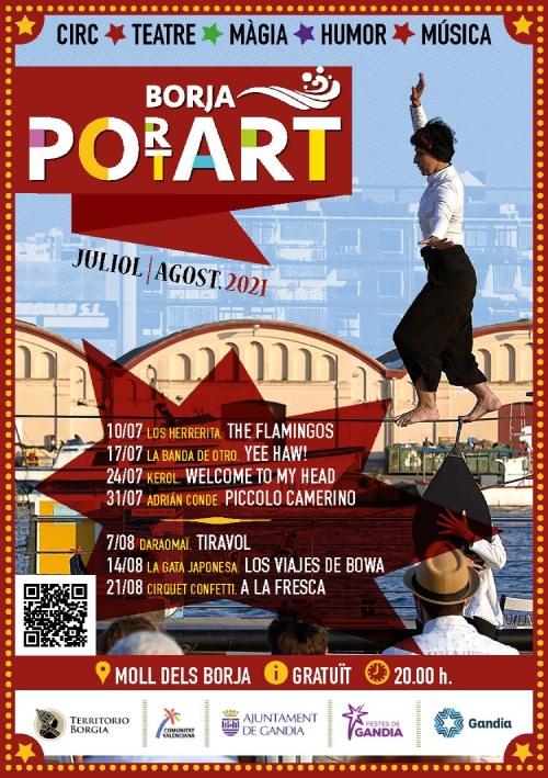 programación de Borja Port Art